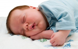 Baby-sleeping-in-sunnah-way