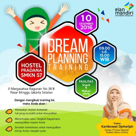 Dream Planning Training