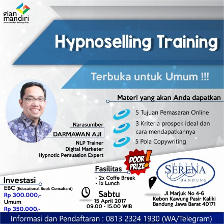 Hypnoselling Training